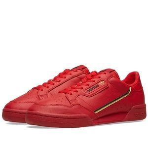 Adidas Continental 80 Men's Sneakers in Scarlet